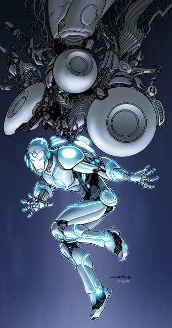 Mundo da Leitura e do entretenimento faz com que possamos crescer intelectual!!!: Homem de Ferro muda de uniforme e ganha roupa mais...