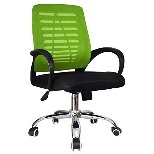 Computer Swivel Chair Home Back Office Chair Lift Rotating Chair Simple Grid Office Adjustable Chair Sliding Wheelchair Col Adjustable Chairs Easy Chair Chair