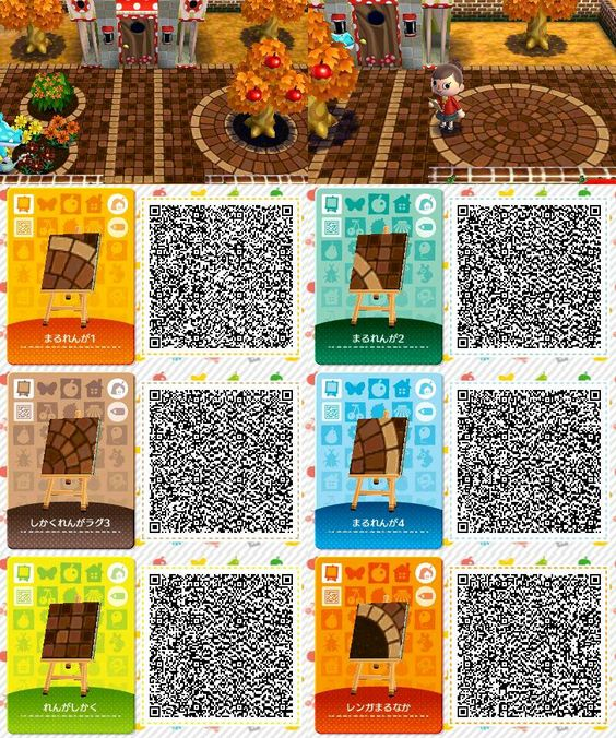 Animal crossing qr codes animal crossing pinterest for Carrelage kitsch animal crossing new leaf