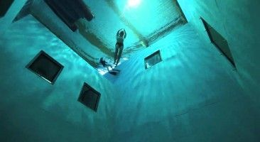 In Belgium (Europe) is a swimming pool called Nemo33. It's scary how deep this pool is…