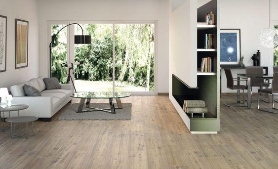 Beispiel für schöne Fliesen in Holzoptik Wohnzimmer Pinterest - fliesenboden modern wohnzimmer