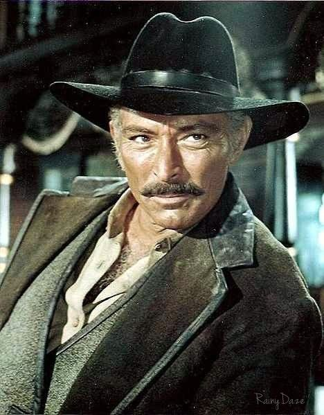 Lee Van Cleef - actor - (01/09/1925 - 12/16/1989) born in Somerville, NJ.  Famous bad guy - spaghetti westerns