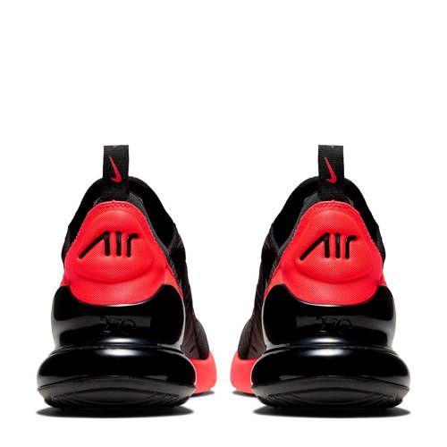nike air max rood met zwart