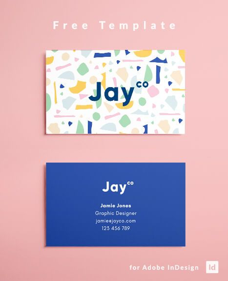 Indesign Business Card Template Free Download Business Cards Creative Name Card Design Business Card Design