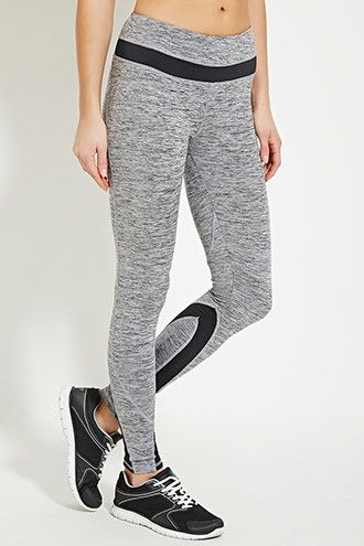 Active Space Dye Leggings | Forever 21 - 2000151788