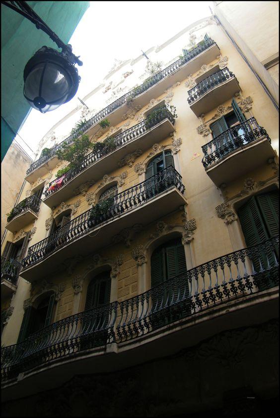 por la calle, Barcelona
