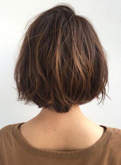 ボブ 大人気 外ハネかわいい愛されショートボブ Garden Aoyamaの髪型 ヘアスタイル ヘアカタログ 2020春夏 ヘアスタイリング 最新ヘアスタイル ヘアスタイル