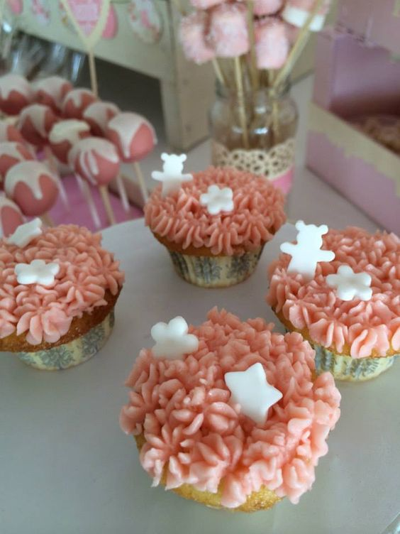 Sweet Dreams. Mesas de postre. Mini cupcakes
