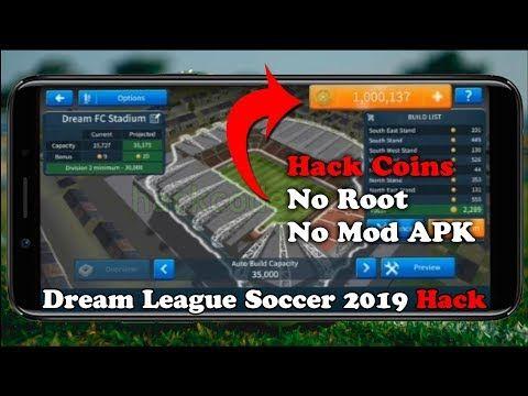 Dream League Soccer 2019 Mod Apk Hack Tool Hacks Point Hacks Free Games