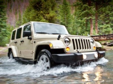 2012 Jeep Wrangler Unlimited Rubicon Review Jess said it has to be modded; big tires, lift kit, lights, winch, ect...