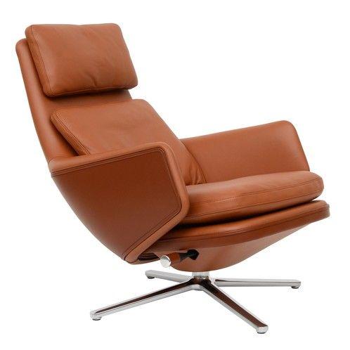Vitra Grand Relax Sessel Leder In 2020 Sessel Relax Schreibtischleuchten