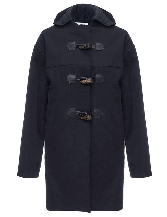 Ink Waxed Cotton Duffle Coat | Chalayan | Avenue32 | wear ...