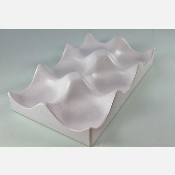 Fab.com | Concrete Hexi-Bowl White- love this for an alternative fruit bowl!