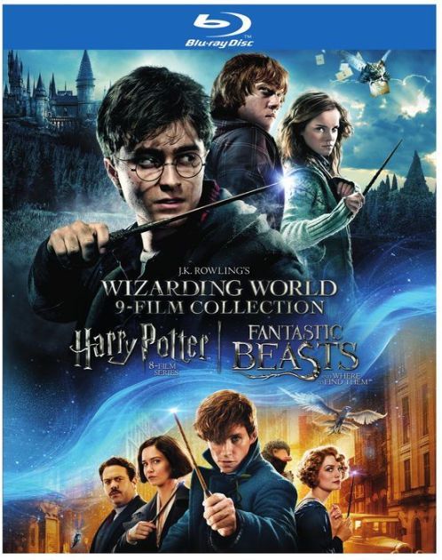J K Rowling S Wizarding World 9 Film Collection Harry Potter Fantastic Beasts 9 Film Wizarding World Fantastic Beasts And Where