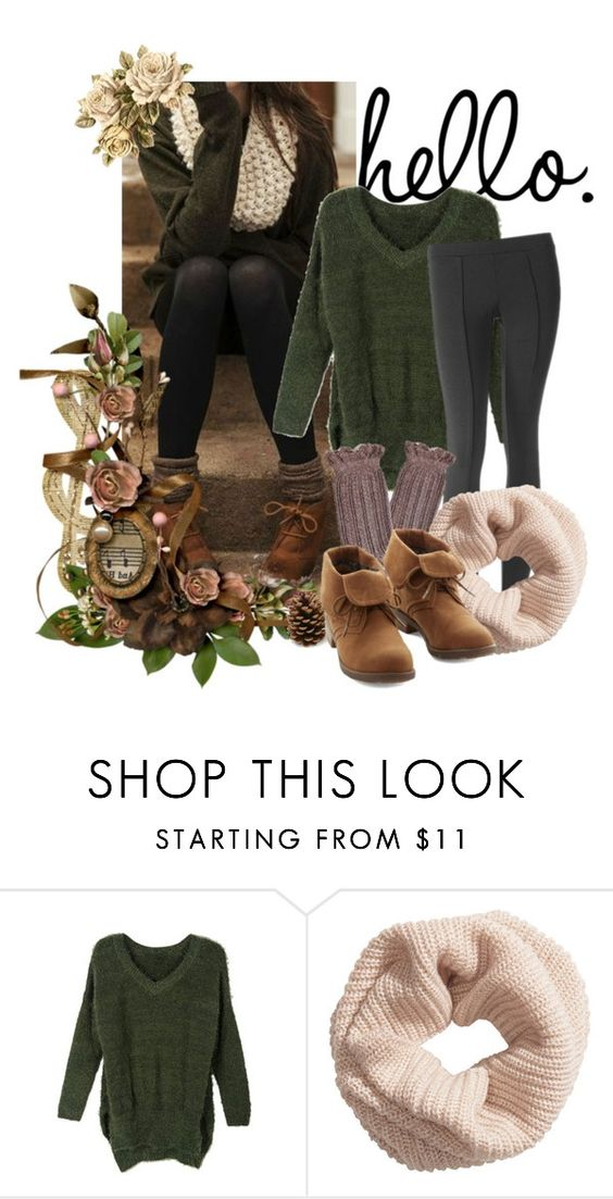 """hello"" by kairi92 ❤ liked on Polyvore featuring H&M"