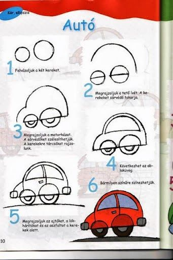 Car - How to Doodle .... Follow for more FREE 'too-neat-not-to-keep' literacy tools  other fun teaching stuff :)