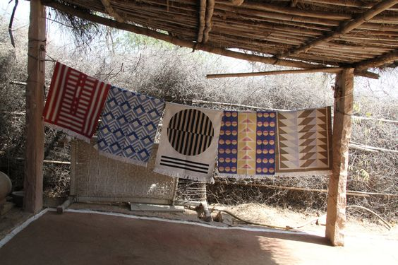 In Rajasthan, India, with the brand's co-founders, Hopie and Lily Stockman.