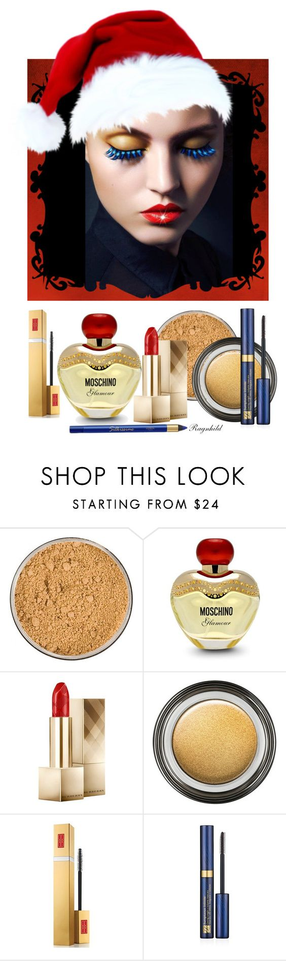 """Beauty for Christmas Eve / Julaften"" by ragnh-mjos ❤ liked on Polyvore featuring beauty, Jane Iredale, Moschino, Burberry, Giorgio Armani, Elizabeth Arden, Estée Lauder, L'Oréal Paris, makeup and beautyset"
