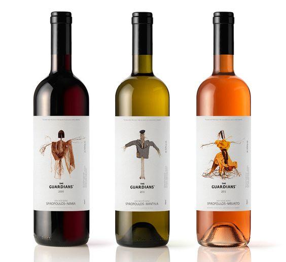 Tema: espantapájaros - Originales etiquetas de vino.. no creo que sirva para que las demás personas no te toman el vino
