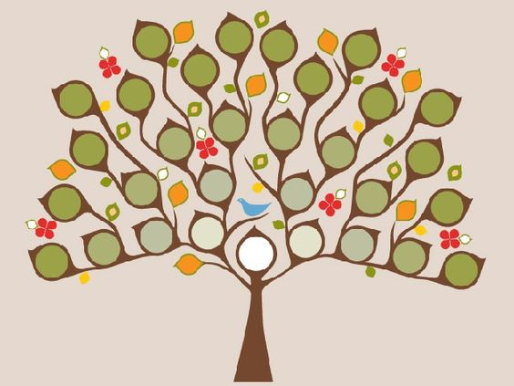Family Tree Design Ideas colorful family tree wall decal Family Tree Design Ideas Family Trees To Show Off Your Roots Great Nursery Art