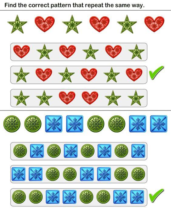 math worksheet : pattern match worksheet23  math worksheets  kindergarten  : Math Reasoning Worksheets