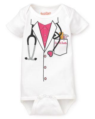 Sara Kety Infant Girls' Doctor Bodysuit - Sizes 0-18 Months | Bloomingdale's