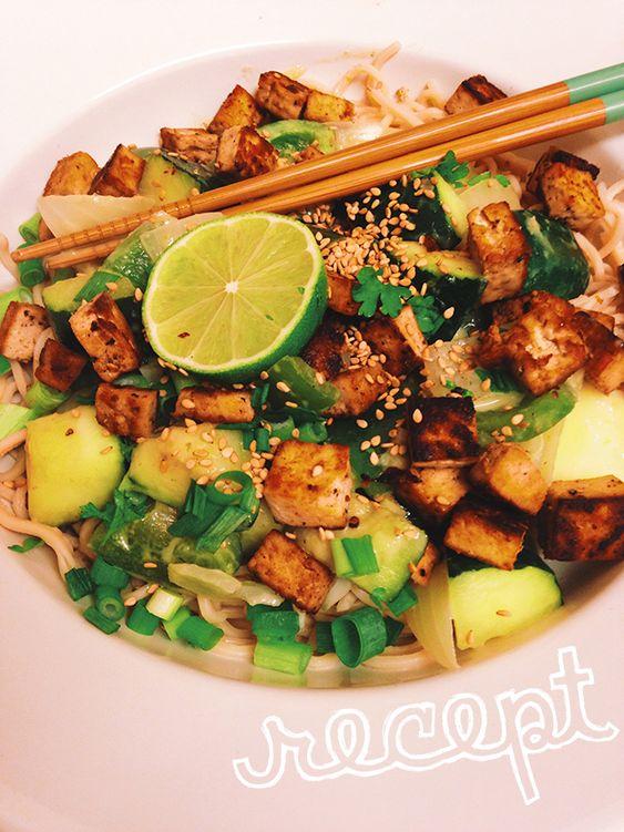Recept: Simpele groene curry met tofu