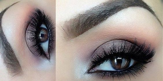smokey eye makeup for blue eyes | Smokey Eye Tutorial For Brown Eyes.