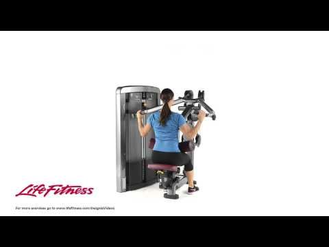 Insignia Series Pulldown Youtube Planet Fitness Machines Planet Fitness Workout Workout Machines