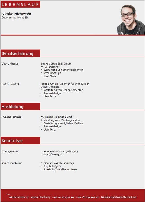 31 Suss Lebenslauf Html Vorlage Vorrate Lebenslauf Lebenslauf Vorlagen Word Lebenslauf Muster
