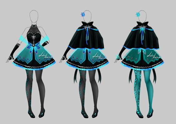 Outfit design - 194 - closed by LotusLumino on DeviantArt