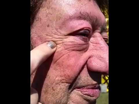 He got WOW'd! What is WOW? It stands for Wipe Out Wrinkles! 45 seconds to feel it, 45 seconds to see it! Comment to try it! #cosmetics #makeup #skin