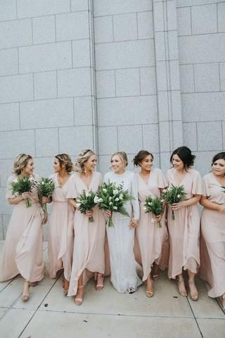 5 Things to Consider When Choosing Your Bridal Party | Wedding party  bridesmaid, Blush pink bridesmaid dresses, Wedding bridesmaid dresses