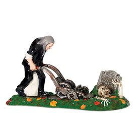"Department 56: Snow Village Halloween - ""A Gravely Haunting, 2009"" - #807306 - $32.50 - Intro Dec 2008 - Retired Dec 2009"