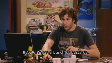 Roy, from 'IT Crowd', sums it up nicely...