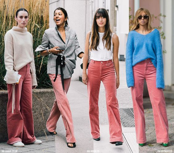 As we all know, there are garments that return cyclically into the fashion system every 2-3 years and this season we have velvet trousers making a comeback and, I guess, are officially a trend now. Bubble pink trousers from Céline (a little too extreme!) Barbie Giovanna.           Photos via: cover |...  Read more »