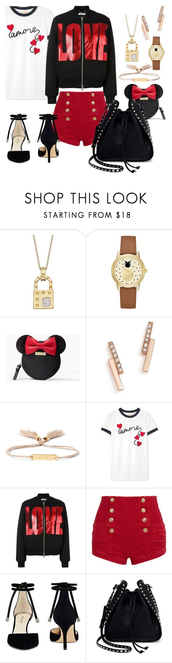 """""""Smooth Sunday"""" by velvy ❤ liked on Polyvore featuring Roberto Coin, Jessica Carlyle, Kate Spade, ZoÃ« Chicco, Chloé, Tory Burch, Givenchy, Pierre Balmain, Nine West and Valentino"""