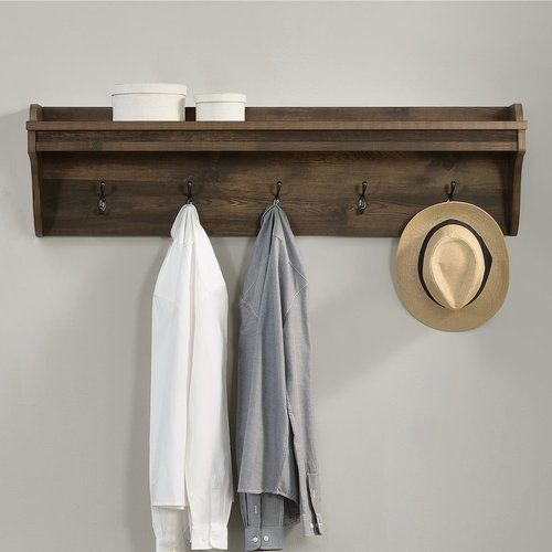 Greyleigh Buckhead Wall Mounted Coat Rack Reviews Wayfair Wall Mounted Coat Rack Coat Rack Wall Rustic Coat Rack