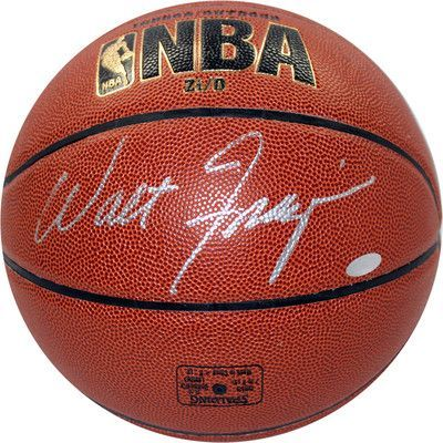 Steiner Sports NBA Walt Frazier Signed I/O Basketball