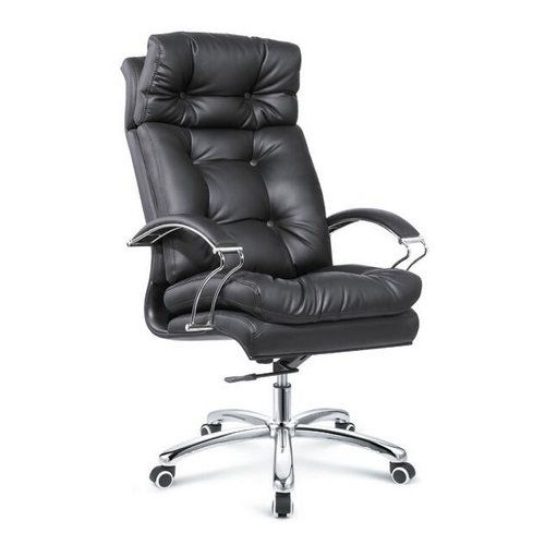 Tall And Big Tilt Control Black Leather High Back Padded Executive Office Chair Swivel Adjustable Seat China Offic Office Chair Office Furniture Modern Chair
