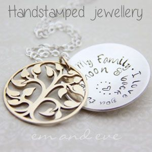 The Mummy Tree Markets BABB Sanctuary Cove 1st March - Em & Eve Handstamped Jewellery