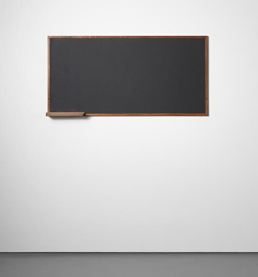 Blackboard with Chalk Holder, Designed for La Chambre D'ètudiant de la Maison du Brésil, Cité Internationale Universitaire de Paris, 1957-1959    Literature: Willy Boesiger, ed., Le Corbusier et Son Atelier rue de Sèvres 35, Œuvre Complète Volume 7: 1957-1965, New York, 1990, p.198  'Le Corbu à La Cité U.', L'Œil (Paris), November 1998, p.72, fig.3