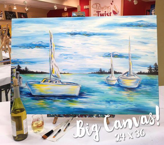 Big Canvas at PWAT DeWitt