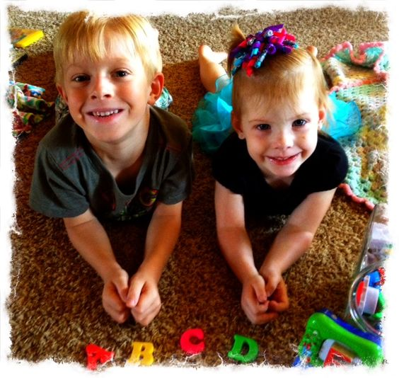 Fun Kids Activity for Rainy Days, Car Rides or whenever - Alphabet scavenger hunt, It was so FUN! We went from A-Z and they had to find something in the house that started with each letter.