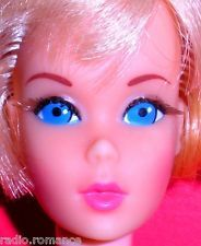 Stunning Vintage Mod 1971 Blonde TNT Twist N Turn Hair Fair Barbie Japan