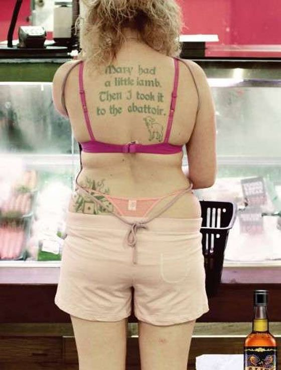 Your unclothed people at walmart