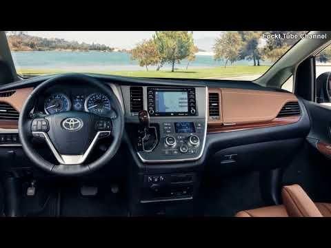 2019 Toyota Sienna Awd Interior Exterior Families Comfort Toyota Sienna Toyota Sienna Interior Toyota