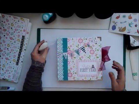 Álbum bebe niña + Caja ( Álbum Baby Girl & Box)