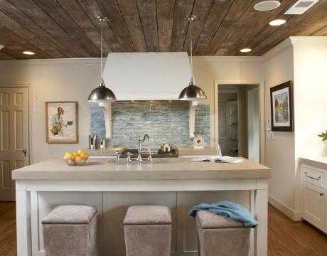 Love wood ceilings