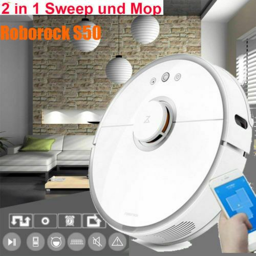 Roborock S50 Smart Vacuum Cleaner Sensor System Robot Intelligent Route Planning Avec Images Nettoyage Menage Systeme D